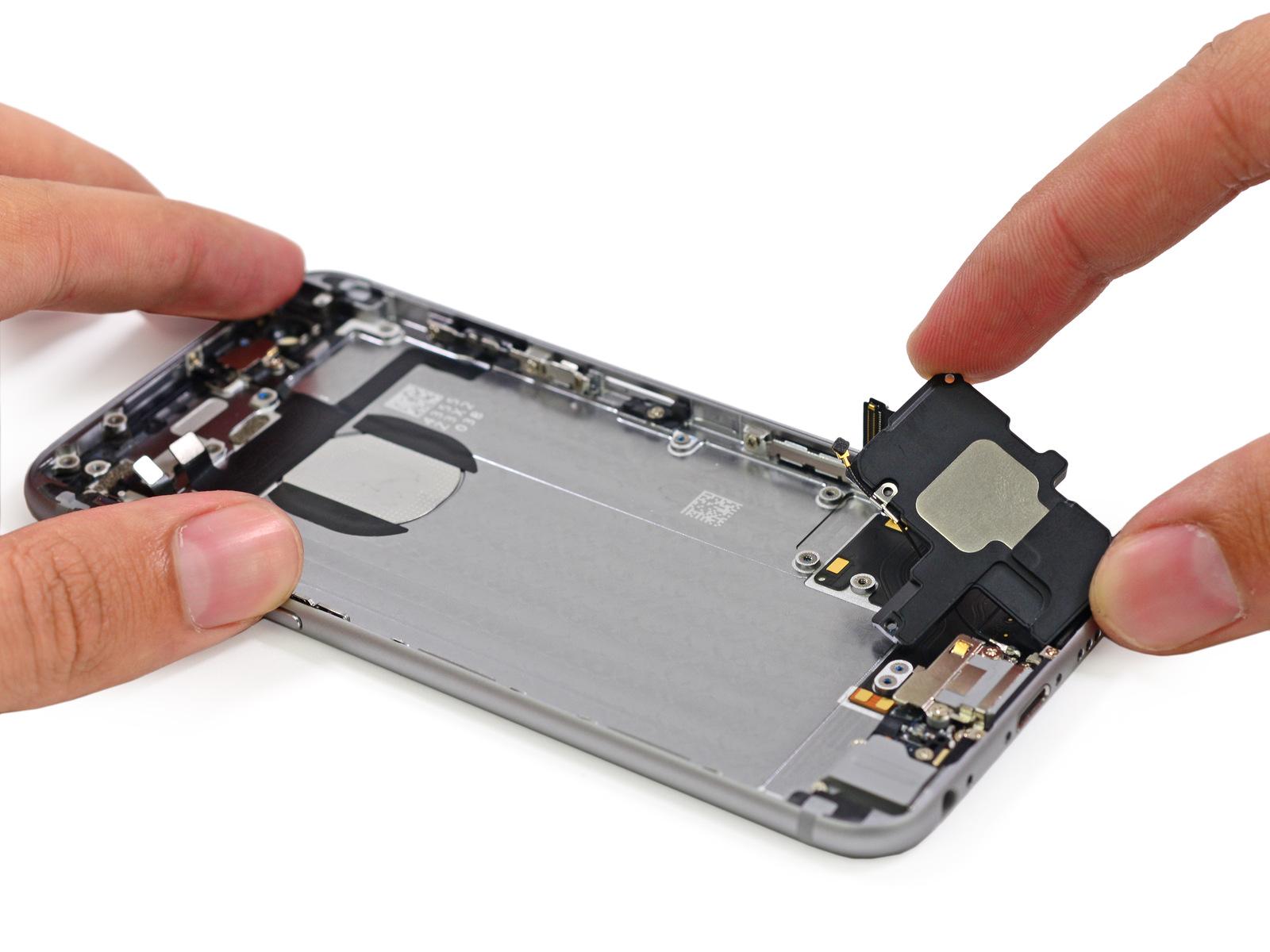 также ремонт айфон 6 в москве замена динамика полотна помогает усилить